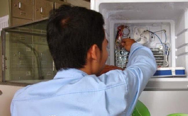 sửa quạt gió tủ lạnh