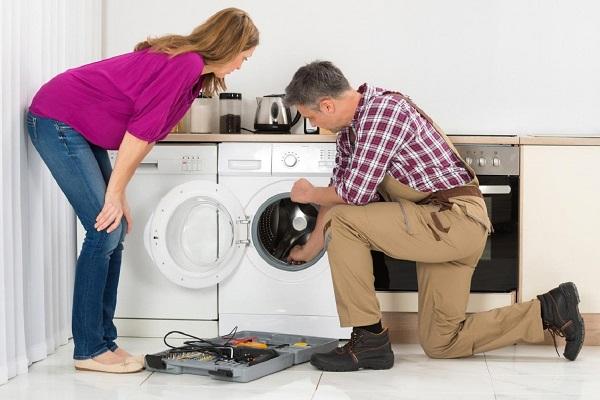 máy giặt vắt không khô