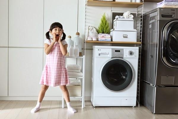 máy giặt đang giặt bị dừng