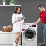 máy giặt lg báo lỗi pe